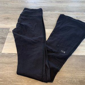 SPLITS 59 BLACK FLARED LEGGINGS SZ X SMALL LONG